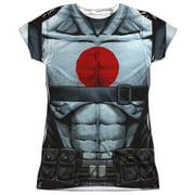 Bloodshot - Shirtless Straps - Juniors Cap Sleeve Shirt - Large