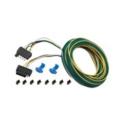 Trailer wiring wesbar 707105 5 way 25 wishbone trailer wiring kit with 4 trunk connector asfbconference2016 Choice Image