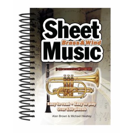 Brass & Wind Sheet Music: Easy to Read, Easy to Play