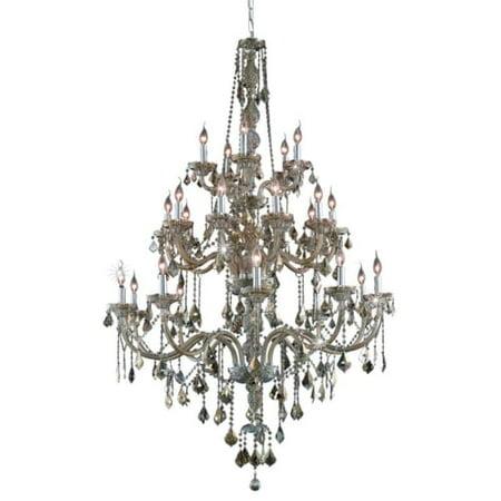 UPC 842814130401 product image for Elegant Lighting Value Verona 25LT Golden Teak Chandelier - V7825G43GT-GT/RC   upcitemdb.com