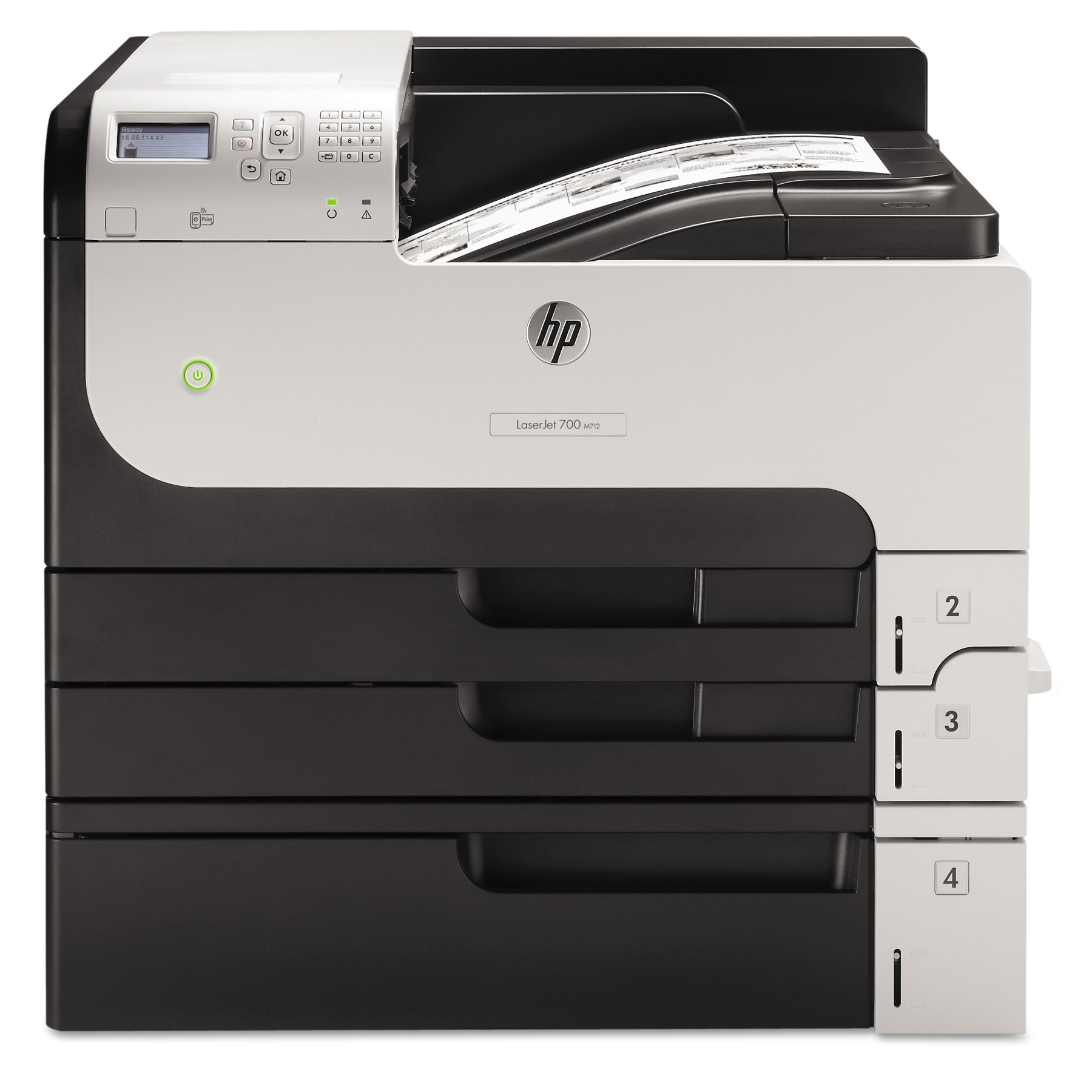 HP LaserJet Enterprise 700 M712xh Laser Printer by HP