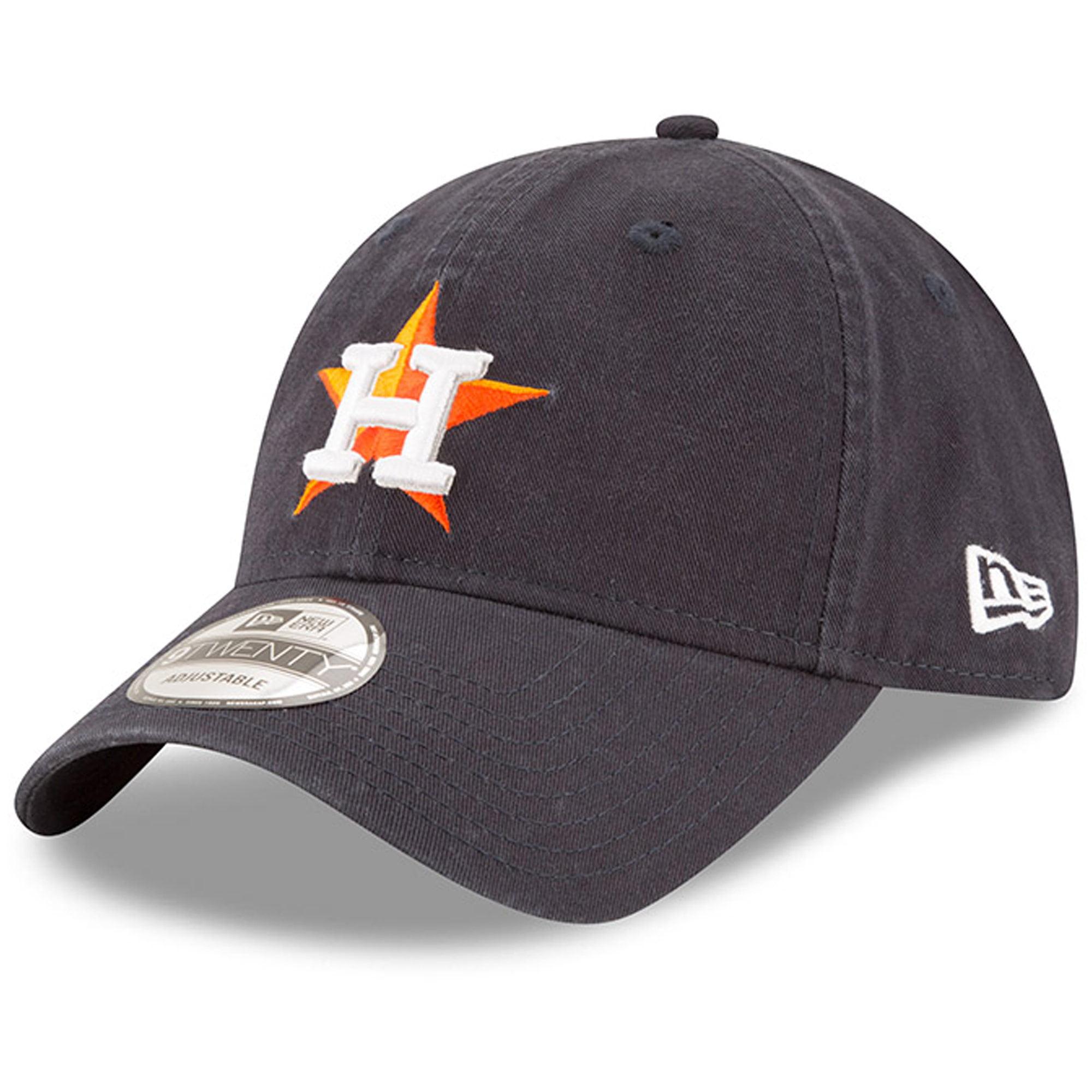 Houston Astros New Era Home Replica Core Classic 9TWENTY Adjustable Hat - Navy - OSFA