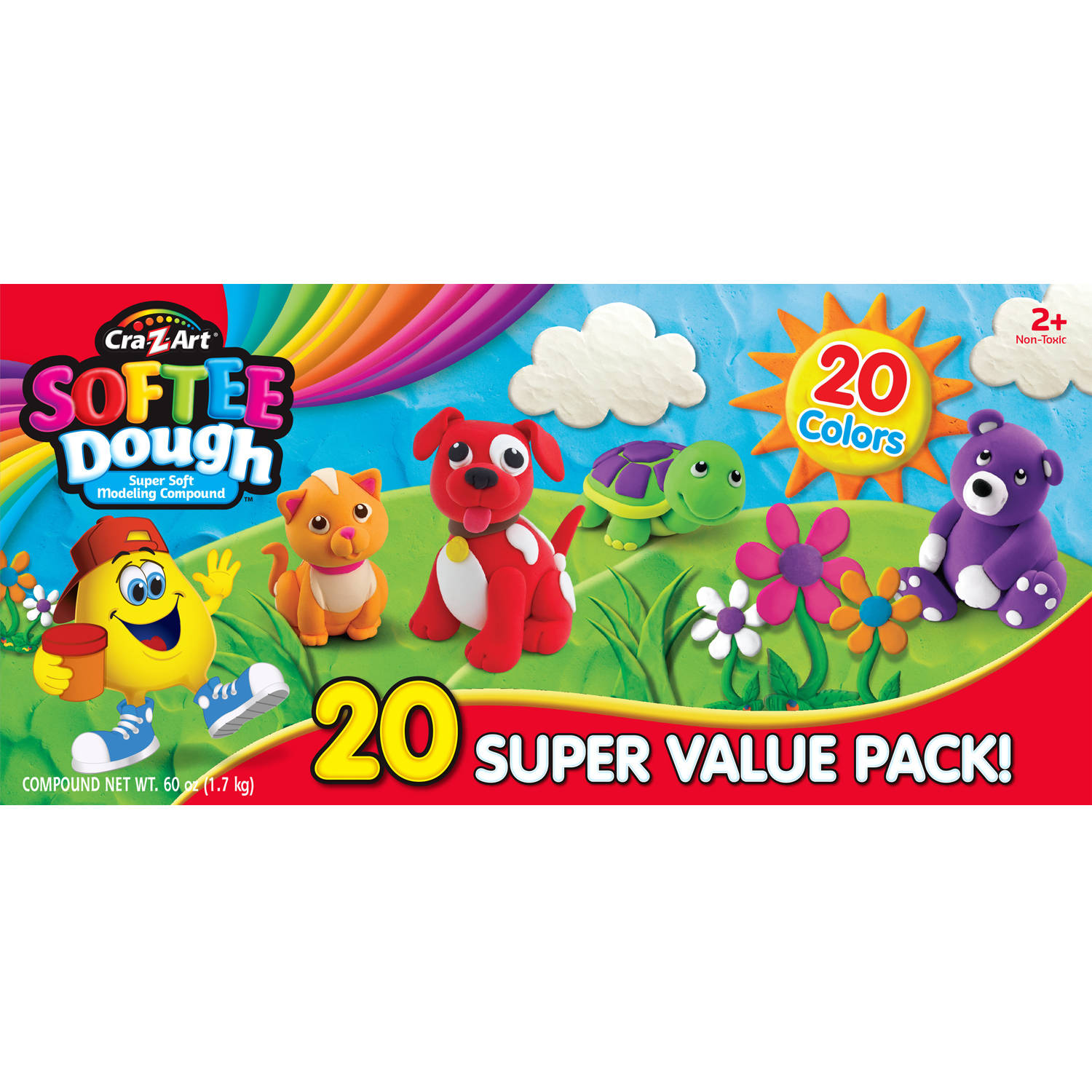 Cra-Z-Art Softee Dough - 20 Pack