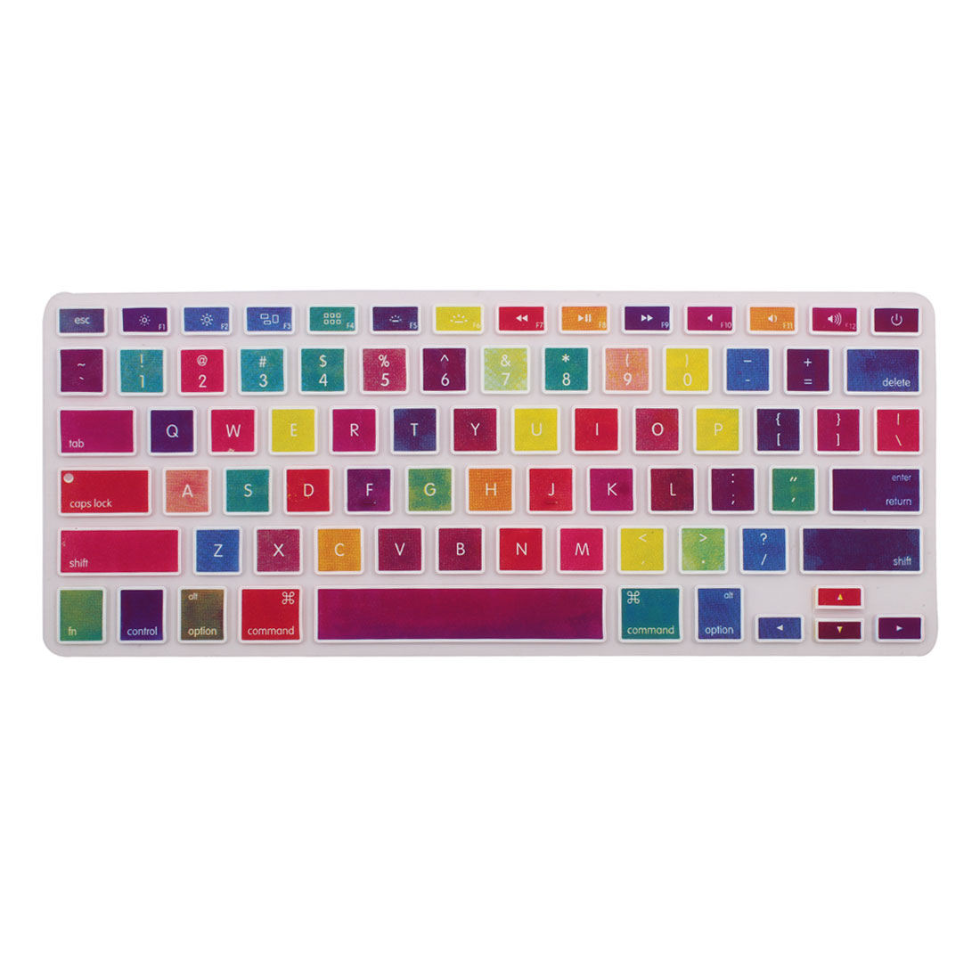 Silicone Keyboard Film Protective Cover Skin for Macbook Pro Air 13  15  17