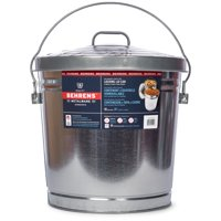 Behrens 10-Gallon Galvanized Steel Locking Lid Storage Can