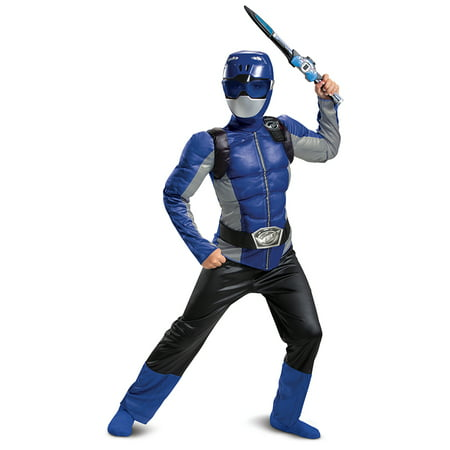 The Best 2019 Halloween Costume Ideas (Power Rangers Beast Morpher Boys Classic Blue Ranger Muscle Halloween)