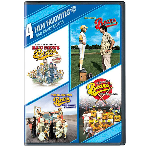 4 Film Favorites: Bad News Bears - Bad News Bears (2005) / The Bad News Bears (1976) / The Bad News Bears Go To Japan / The Bad News Bears In Breaking Training (Widescreen)