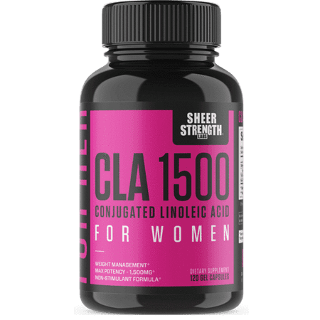 Sheer CLA 1500 Conjugated Linoleic Acid For Women - Weight Management, Bodybuilding - 120