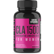 Sheer CLA 1500 Conjugated Linoleic Acid For Women - Weight Management, Bodybuilding - 120 Capsules