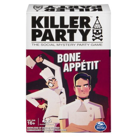 Killer Party Bone Appétit, the Social Mystery Party Game for Ages 16 and Up - Halloween Party Games For All Ages