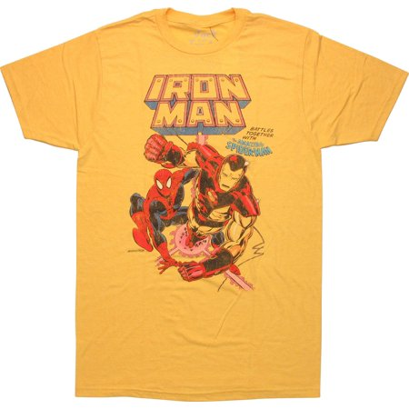 Iron Man Issue 234 Comic Cover T-Shirt Sheer