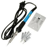 TSV 110V 60W Adjustable Temperature Electric Soldering Iron Pen Handle Solder Station Welding Repair Hand Tool