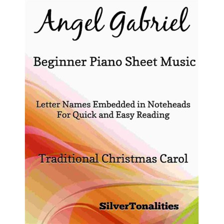Angel Gabriel Beginner Piano Sheet Music - eBook