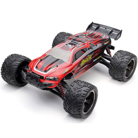 (RC Car, FMT Remote Control Truck High Speed Off-Road 30+MPH 1/12 Scale Full Proportional 2.4Ghz 2WD (Color: Red))