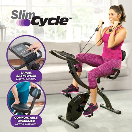 Slim Cycle 2-in-1 Exercise Bike