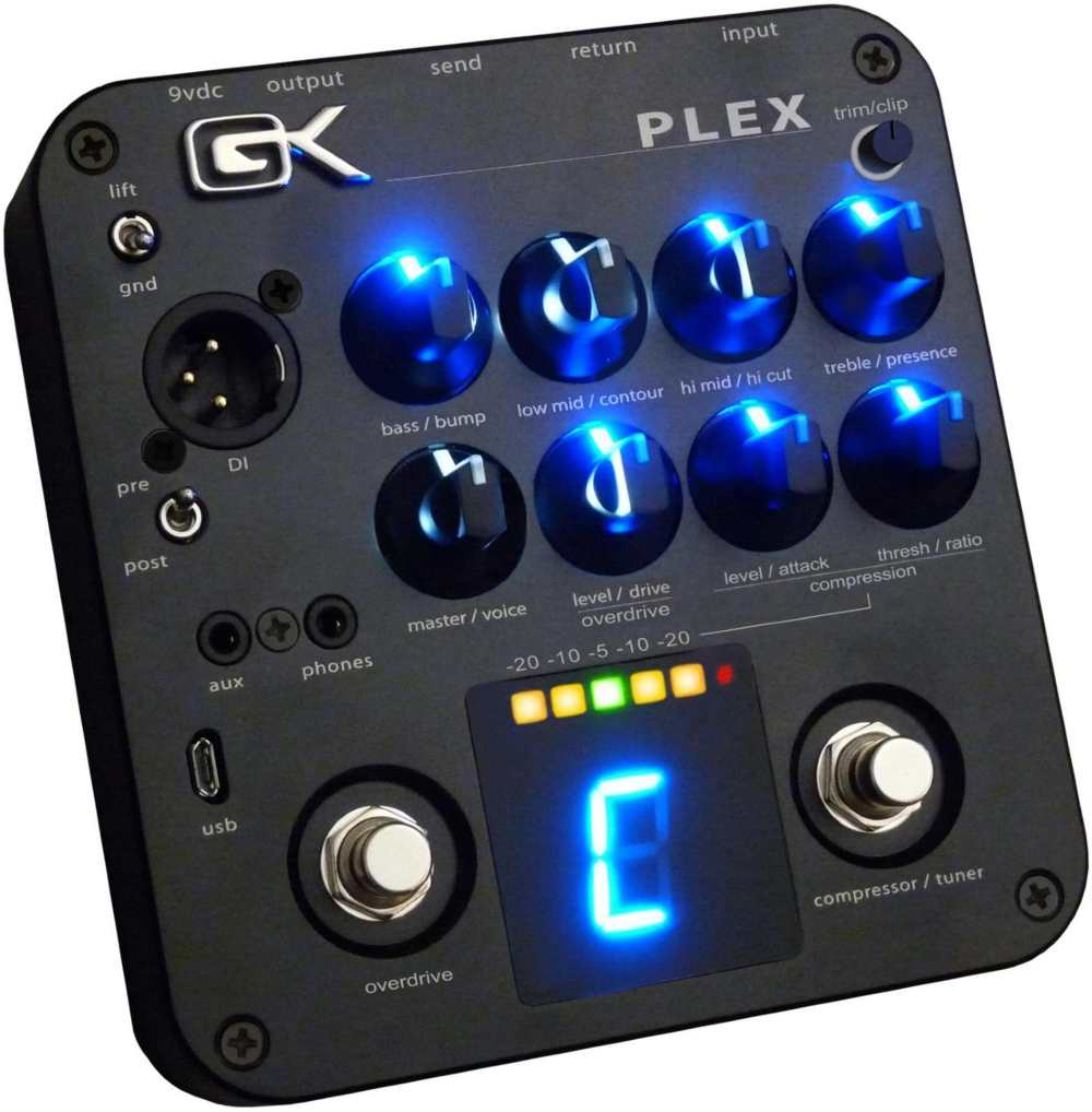 Gallien-Krueger PLEX Preamp Pedal with USB by Gallien-Krueger
