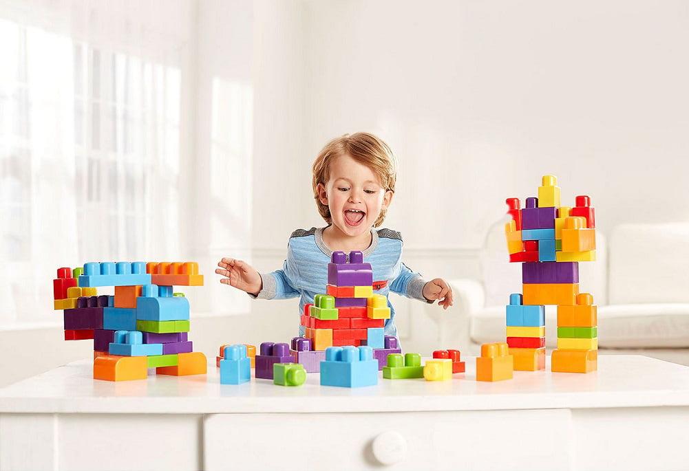 Kids Work 200-Piece Ton Of Blocks Boxed Set