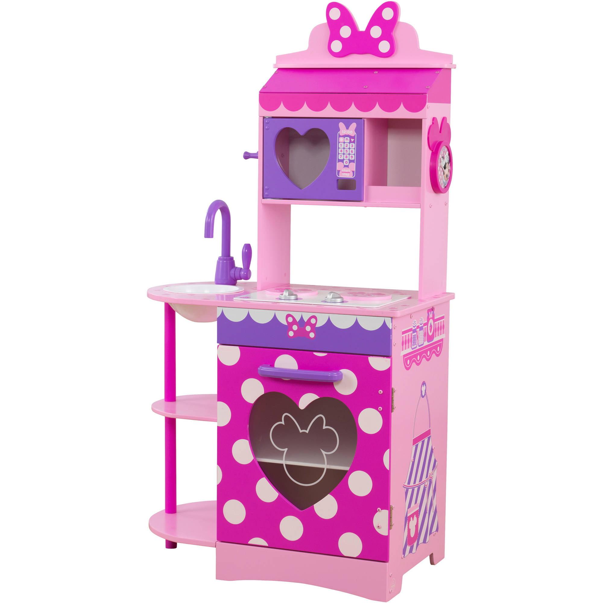 Disney Jr. Minnie Mouse Toddler Kitchen by KidKraft by KidKraft