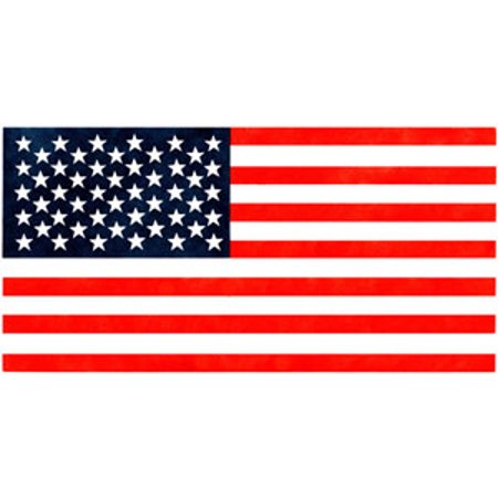 Large American Flag Stencil - Stencil only - Plastic