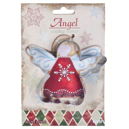 angel cookie cutter ganz christmas holiday cookie cutter - Christmas Cookie Cutters Walmart