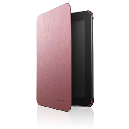 Lenovo A2107A Folio Cover for Tablets, Bordeaux Red 4LNO05394 ()