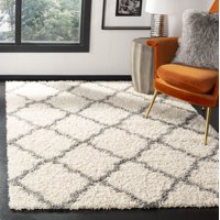 Safavieh Daley Geometric Plush Shag Area Rug or Runner