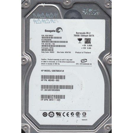 ST3750330NS, 9QK, KRATSG, PN 9CA156-784, FW HPG6, Seagate 750GB SATA 3.5 Hard -