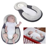 Baby Stereotypes Pillow Infant Anti Rollover Mattress Pillow For 0-12 Months Baby Sleep Positioning, Neonate Babies Head Support Pillow