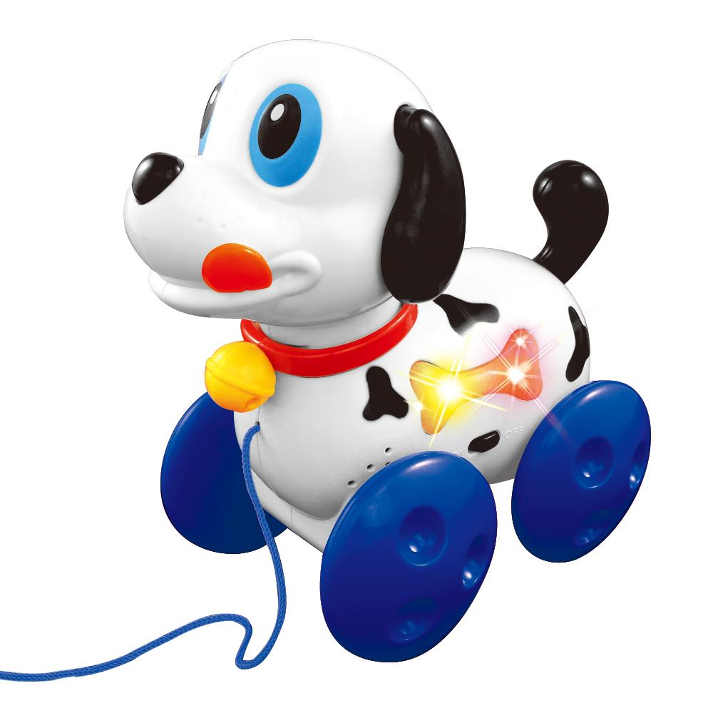 Lightahead® Naughty Musical Dog A Sound & Light Pulling Toy for Children &Toddlers