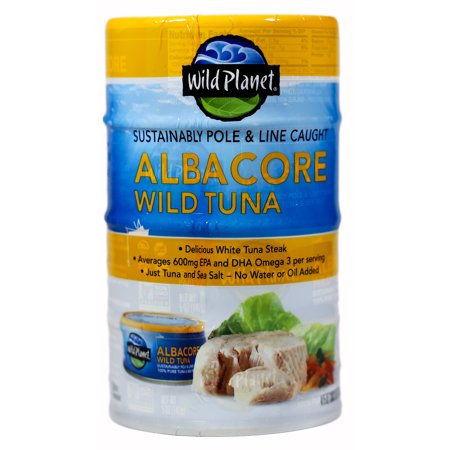 - Wild Planet Wild Albacore Tuna, 5 oz (4 Packs)