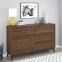 Ameriwood Home Vaughn 6 Drawer Dresser, Multiple Colors