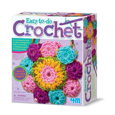 Easy-To-Do Crochet Kit, The Crochet Art Kit is a perfect beginner set to teach the fundamentals of crocheting. By (Cachet Art)