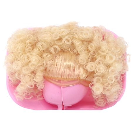 LOL Surprise 2018 LIMITED EDITION Pink Curly Puff with Bangs Brushable Hairstyle Wig [No Packaging]