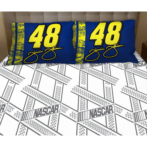 Jimmie Johnson #48 Twin Sheet Set