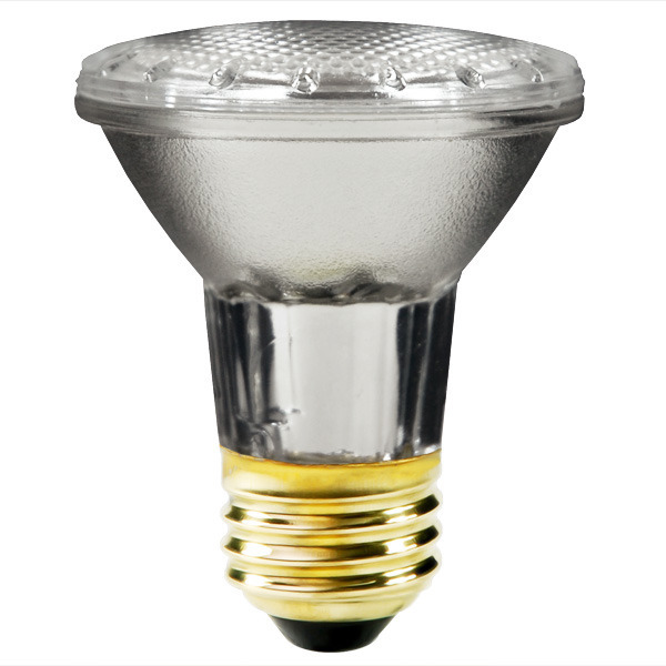 38W PAR20 Flood Halogen Light Bulb - 50W Equal, 38PAR20/ECO/FL/120, 120V - Plusrite 3499