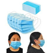 Disposable Face Mouth Mask 3-Ply Ear Loop