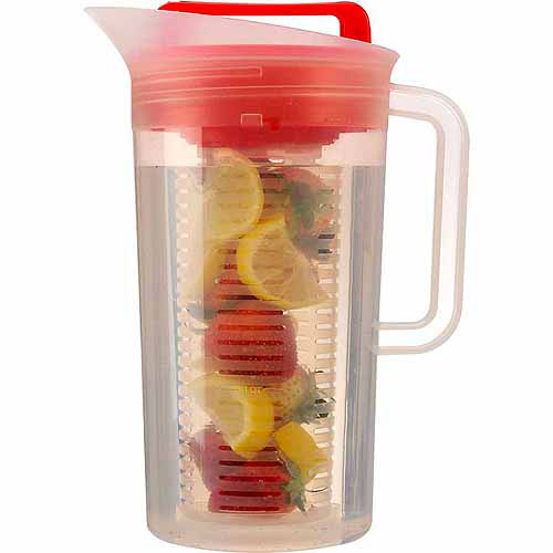 Today Shake and Infuse 3-Quart Pitcher with Flavor Infuser