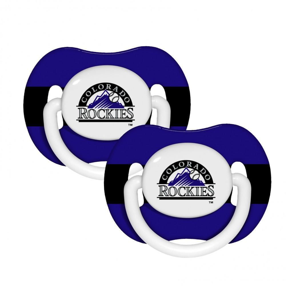 MLB Colorado Rockies Pacifier 2 Pack
