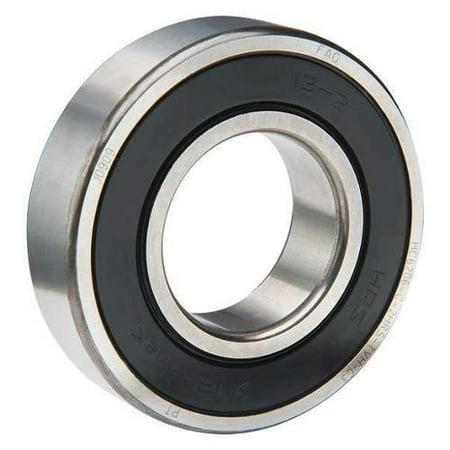 Fag Bearings - FAG BEARINGS HC6204-C-2HRS-TVH-L207-C3 Ball Bearing,Double Seal,47mm O.D,14mm W