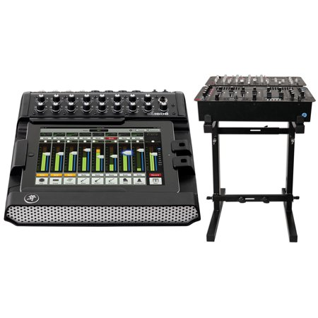 - New Mackie DL1608 Lightning 16-Ch Digital Live Sound Mixer w/ lPad Control+Stand