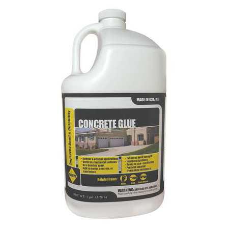 SAKRETE Concrete Glue,1 gal.,Jug 120033