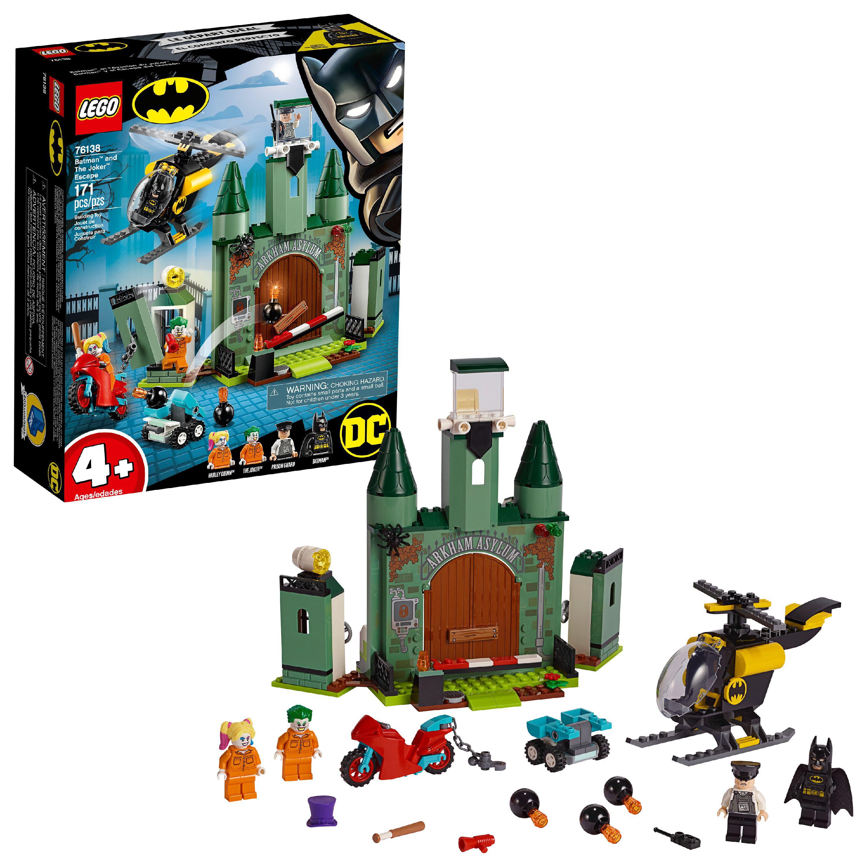 Lego Batman And The Joker Escape 76138 Superhero Action Toy Walmart Com Walmart Com