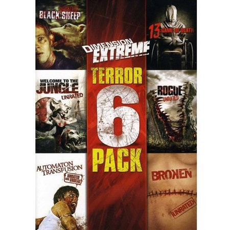 Dimension Extreme 6-Film Collection (Black Sheep, Automaton, Broken, Rogue, Welcome to the Jungle,