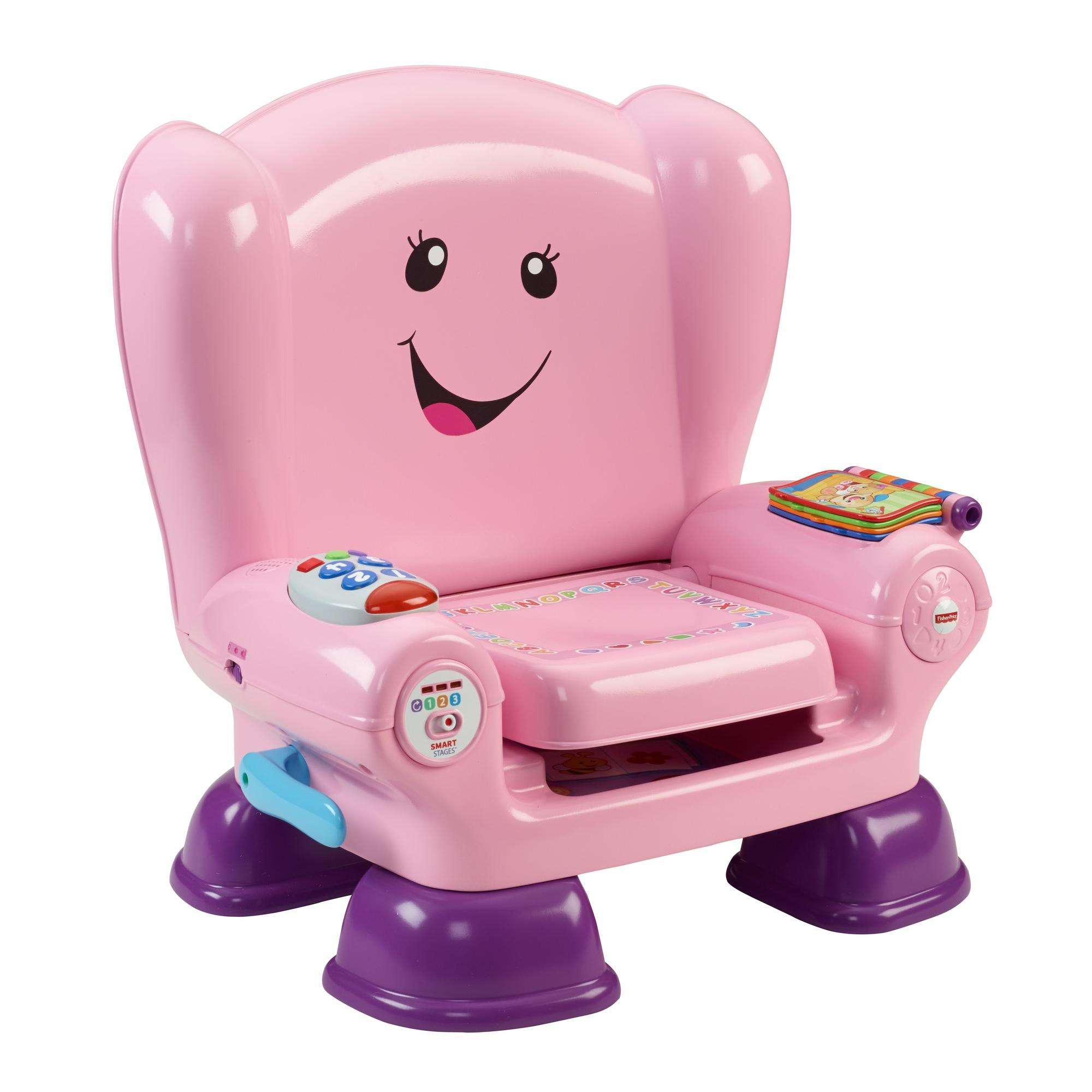 Laugh and learn stages chair