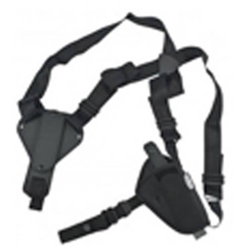 Uncle Mikes Horizontal Shoulder Holster, Kodra Black, Ambidextrous Size 0