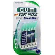 GUM Advanced Soft-Picks, One pack of 60