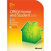 Microsoft Office Home and Student 2010, Traditional Disc