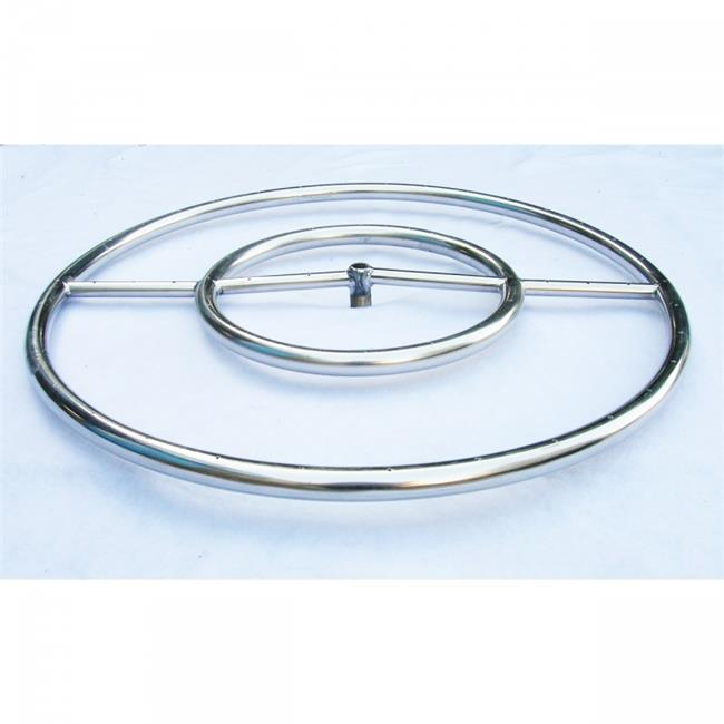 HearthDistribution OBRSS-24R 24in Round Ring Burner Arctic Flame