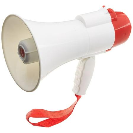 SE OD-MP30W-BH 30 Watt Megaphone with Voice Recorder and Siren, 380 Yards