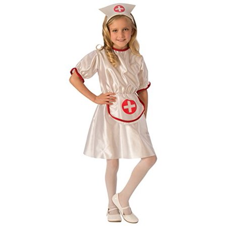 Girls Nurse Costume - Large (Children's Nurse Costume Uk)
